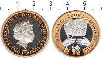 Изображение Монеты Великобритания 2 фунта 2012 Биметалл Proof-