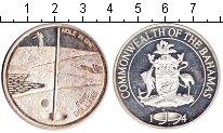 Изображение Монеты Багамские острова 5 долларов 1994 Серебро Proof-