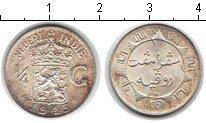 Изображение Монеты Нидерландская Индия 1/4 гульдена 1945 Серебро UNC