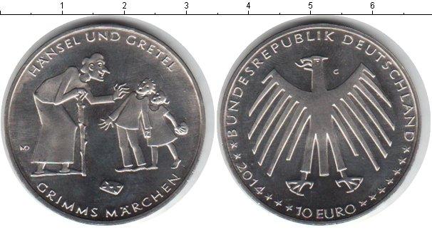 Картинка Монеты Германия 10 евро Медно-никель 2014
