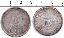 Изображение Монеты Третий Рейх 5 марок 1935 Серебро  Кирха. A