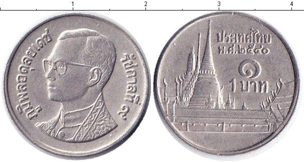 Картинка Барахолка Таиланд 1 бат Медно-никель 2000