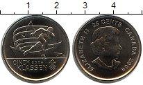 Изображение Мелочь Канада 25 центов 2009 Медно-никель UNC Синди Классен