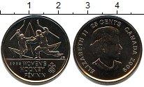 Изображение Мелочь Канада 25 центов 2009 Медно-никель UNC Женский хоккей