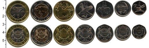 Изображение Наборы монет Ботсвана Ботсвана 2013 2013  UNC-