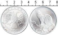 Изображение Монеты Россия 3 рубля 1995 Серебро UNC Соболь