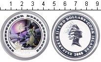 Изображение Монеты Острова Кука 2 доллара 2008 Серебро Proof- Оловянный солдатик