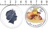 Изображение Монеты Австралия 1 доллар 2003 Серебро Proof- Год Крысы