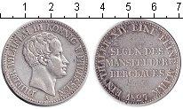 Изображение Монеты Пруссия 1 талер 1827 Серебро VF Фридрих Вильгельм II