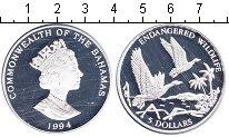 Изображение Монеты Багамские острова 5 долларов 1994 Серебро Proof- Елизавета II