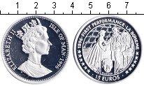 Изображение Монеты Остров Мэн 15 евро 1996 Серебро Proof- Елизавета II