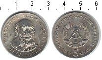 Изображение Монеты ГДР 5 марок 1977 Медно-никель UNC