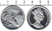 Монета Гибралтар 14 экю Серебро 1993 Proof фото