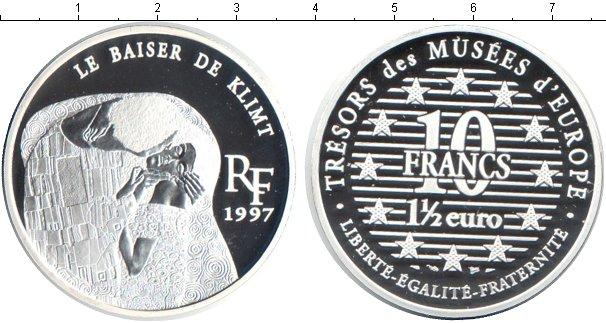 Картинка Монеты Франция 10 франков Серебро 1997