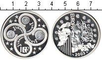 Изображение Монеты Франция 1 1/2 евро 2003 Серебро Proof Европейский Валютный