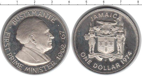 Картинка Монеты Ямайка 1 доллар Медно-никель 1974
