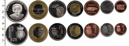Изображение Наборы монет Редонда Редонда 2013 2013   В наборе 7 монет ном