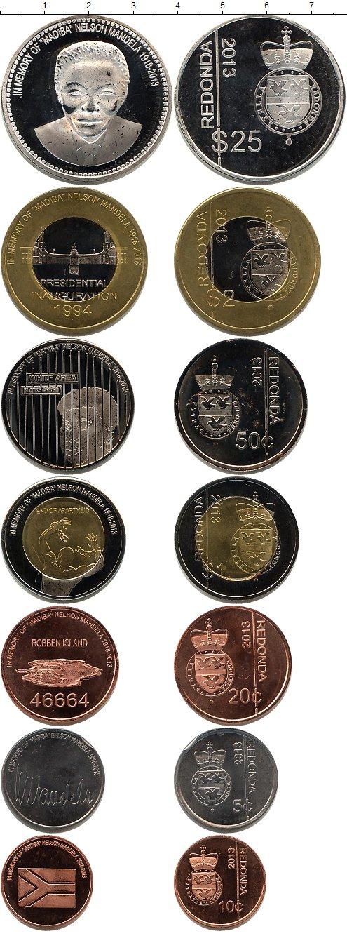 Картинка Наборы монет Редонда Редонда 2013  2013