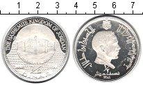 Изображение Монеты Иордания 1/2 динара 1969 Серебро Proof-