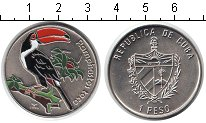 Изображение Монеты Куба 1 песо 2006 Медно-никель UNC- птица