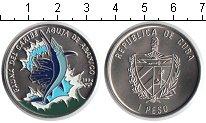 Изображение Монеты Куба 1 песо 1994 Медно-никель UNC- рыба-меч
