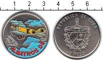 Изображение Монеты Куба 1 песо 1994 Медно-никель UNC- Альбатрос DII