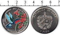 Изображение Монеты Куба 1 песо 1996 Медно-никель UNC- колибри