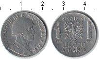 Изображение Монеты Албания 0,20 лек 1940 Железо XF Итальянская оккупаци