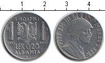 Изображение Монеты Албания 0,2 лек 1940 Железо XF