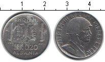 Изображение Монеты Албания 0,2 лек 1939 Железо XF Итальянская оккупаци