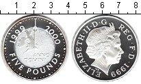 Изображение Монеты Великобритания 5 фунтов 1999 Серебро Proof