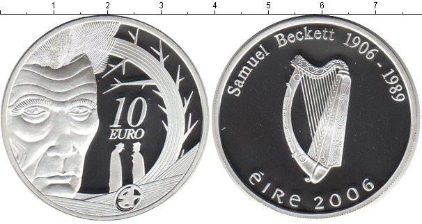 Картинка Монеты Ирландия 10 евро Серебро 2006