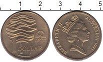 Изображение Мелочь Австралия 1 доллар 1993  UNC-