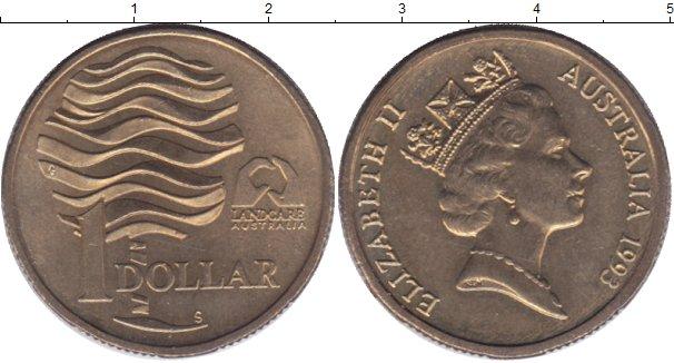 Картинка Мелочь Австралия 1 доллар  1993