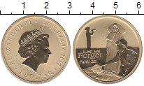 Изображение Мелочь Австралия 1 доллар 2012  Proof- Елизавета II