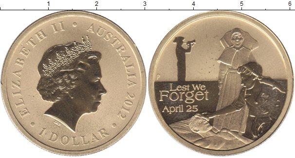 Картинка Мелочь Австралия 1 доллар  2012