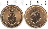 Изображение Мелочь Австралия 1 доллар 2011  UNC-