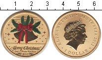Набор монет Австралия 1 доллар Латунь 2014 UNC