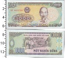 Изображение Боны Вьетнам 1000 донг 1988  UNC Портрет Хо Ши Мина С
