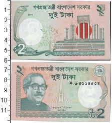 Изображение Банкноты Бангладеш 2 така 2011  UNC