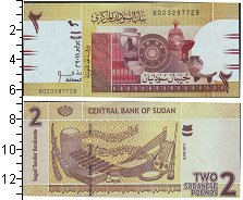 Изображение Боны Судан 2 фунта 2001  UNC