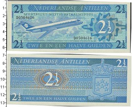 Картинка Банкноты Антильские острова 2 1/2 гульдена  1970