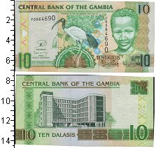 Изображение Боны Гамбия 10 даласи 0  UNC