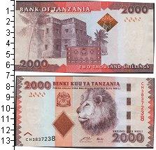 Изображение Банкноты Танзания 2000 шиллингов 0  UNC-