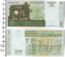 Изображение Банкноты Мадагаскар 200 ариари 2004  UNC