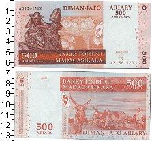 Изображение Банкноты Мадагаскар 500 ариари 2004  UNC