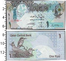 Изображение Банкноты Катар 1 риал 0  UNC