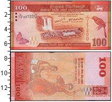 Изображение Банкноты Шри-Ланка 100 рупий 2010  UNC