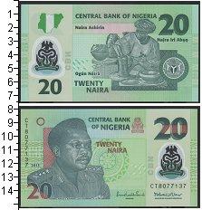 Изображение Банкноты Нигерия 20 найр 2013  UNC