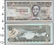 Изображение Боны Эфиопия 1 бирр 2008  UNC